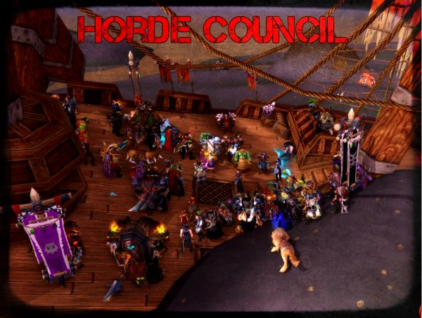 Horde Council Moon Guard RP