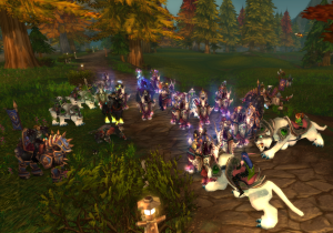 Many of the Alliance charged into our ranks, steeds slamming to break our file and try and give the escorted prisoners a chance to run.